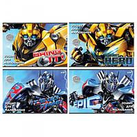 Альбом для рисования Transformers Kite 30 листов, спираль TF17-243