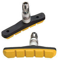 Тормозные колодки Jagwire MTB v-br. Mountain Sport (Basics Comp Mountain XC) JS908T-Y - Yellow