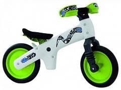 Велосипед BELLELLI B-Bip Pl обучающий бело-зеленый 2-5лет (беговел)
