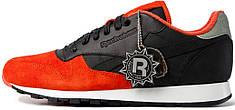 Женские кроссовки Solebox x Reebok Classic Leather Red Devil