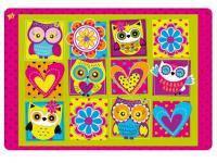 Килимок для творчості YES Owl 42,5 х 29