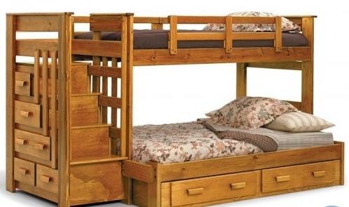 Двухьярусная детская кровать «Авоська»