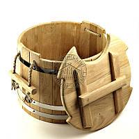 Запарник для веников профи, дуб (30 л)