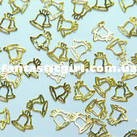 Металлические колокольчики для украшения ногтей