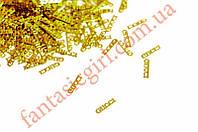 Металлические логотипы GUCCI для украшения ногтей