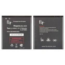 Акумулятор для Fly IQ4404 (BL3805) 1750mAh