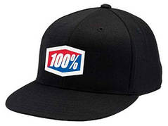 Кепка 100% ICON 210 Fitted Hat черная