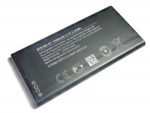 Аккумулятор для Nokia X Dual Sim (BN-01) 1500mAh