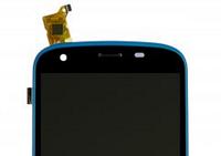 Дисплей QUMO QUEST 506 с сенсорным экраном с голубой рамкой