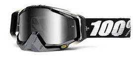 Очки МХ RACECRAFT Goggle Abyss Black - Mirror Silver Lens