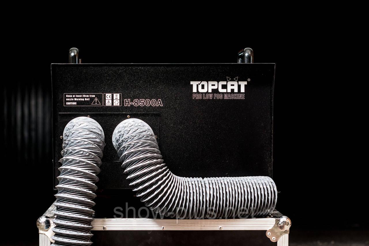 Генератор тяжелого дыма DJ Power H-8500A для съемочных площадок, театров, клубов.