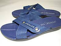 Мужские шлепанцы Spencer (42р) Турция код 7022 цвет синий, фото 1