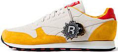 Мужские кроссовки Hanon x Reebok Classic Leather 30th Anniversary Aberdeen Leopards Grey/Yellow