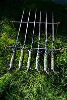 """Набор шампуров с мангалом """"Рыбак"""" (3мм, 69см) в колчане (наличие уточняйте)"""