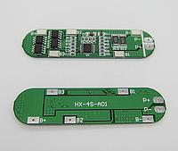 BMS Контроллер (плата защиты) 4S Li-Ion 18650 16.8V 10A