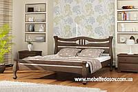 Кровать Даллас двуспальная 160 (Мебигранд/Mebigrand) 1750х2030(2130)х920мм