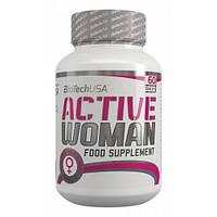 Комплекс витаминов и минералов для женщин Active Women 60 tabs BioTech