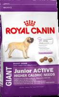 Сухой корм для активных щенков гигантских пород от 8 до 18/24 месяцев Royal Canin Giant Junior Active 15 кг.