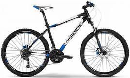 "Велосипед Haibike Attack SL 26"" 50см черно-бело-синий"