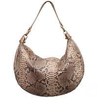 Женская сумка из кожи питона (PT 828 Creamy)