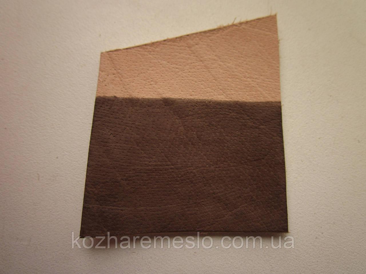 Фарба для шкіри спиртова TOLEDO SUPER 100 мл коричнева (кора)
