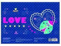 Килимок для творчості пластиковий CFS Ladybag 38 x 27