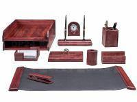 Набір настільний 10 предметів Bestar червоне дерево