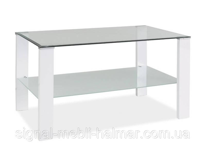 Журнальный столик  Karina C стеклянный SIGNAL (4 цвета)
