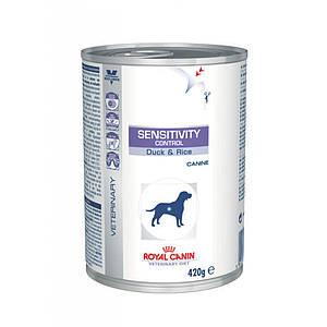 Влажный лечебный корм Royal Canin Sensitivity Control Duck Dog Cans для собак 0,42КГ