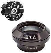 """Рулевая PRO Cartridge верхняя часть EC34/28,6 + ромашка (внешние чашки, 1-1/8"""", диам рулев рамы 34мм)"""
