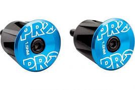 Вставки в руль PRO (пара), анодированные, синие