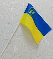 Флажки Украины на палочке, фото 1