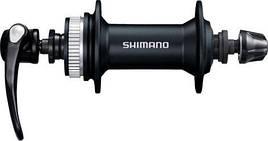 Втулка передняя SHIMANO HB-M4050, для диск торм, 36сп., черн, CENTER LOCK - SALE!