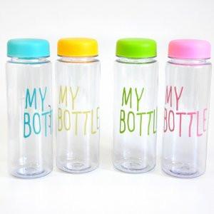 MY BOTTLE + чехол бутылка для напитков (цвет в ассортименте)