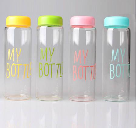 MY BOTTLE + чехол бутылка для напитков (цвет в ассортименте), фото 2