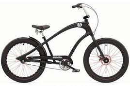 "Велосипед ELECTRA Straight 8 8i (Alloy) disc satin black 24"""