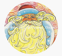 Вафельні картинки — Новий рік №3А — 18,7 см