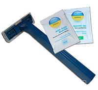Набор для бритья (станок 2л + гель 10мл+бальзам 10мл)