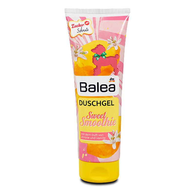 Гель для душа Balea Sweet Smoothie лимон+ваниль 250мл