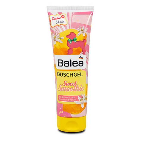 Гель для душа Balea Sweet Smoothie лимон+ваниль 250мл, фото 2