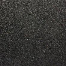 Фоамиран з глітером 2 мм, 20x30 см, Китай, ЧОРНИЙ