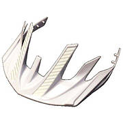 Козырек на шлем Cannondale Radius-Visor бел-серебр