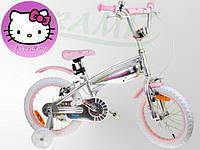 Детский велосипед HELLO KITTY `16 серебряный оригинал НАЛИЧИЕ наложка