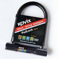 Вело/мотозамок Kovix KTL14-150 с сигнализацией