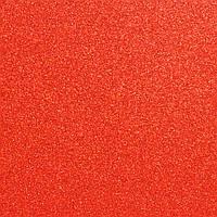 Фоамиран с глиттером 2 мм, 20x30 см, Китай, КРАСНЫЙ