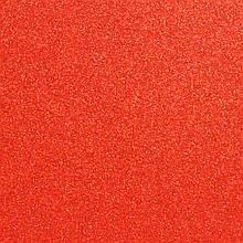 Фоамиран з глітером 2 мм, 20x30 см, Китай, ЧЕРВОНИЙ