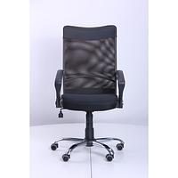 Кресло Аэро HB Line сиденье Сетка черная, Неаполь N-20/спинка Сетка черная, вставка Неаполь N-20 (АМФ-ТМ)
