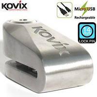 Вело/мотозамок Kovix KDL15 с сигнализацией