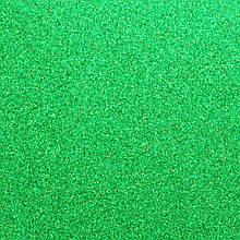 Фоамиран з глітером 2 мм, 20x30 см, Китай, ЗЕЛЕНИЙ