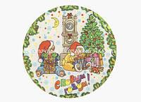 Вафельні картинки — Новий рік №6E — 14,5 см